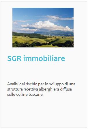 Esperienze: SGR immobiliare, albergo diffuso in Toscana