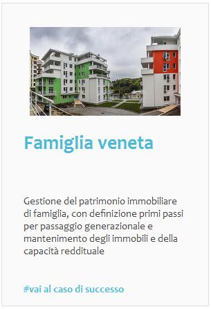 Esperienze: gestione immobiliare per famiglia privata