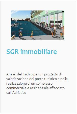 Esperienze: SGR immobiliare, residenziale e commerciale