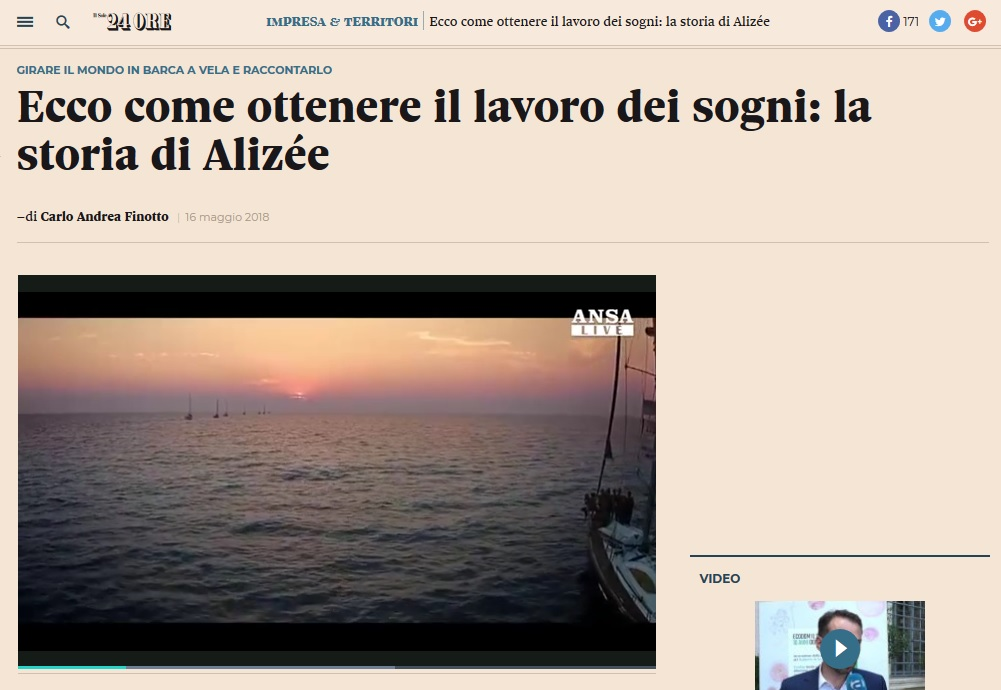 Ecco come ottenere il lavoro dei sogni: la storia di Alizée